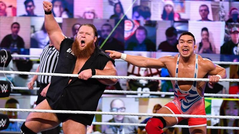 Otis and Chad Gable formed an alliance in December 2020