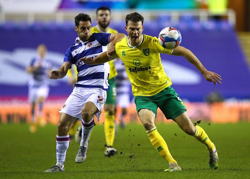 Norwich City take on Reading at the Carrow Road Stadium
