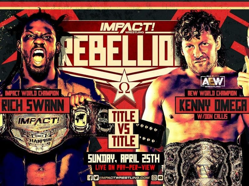 """Title vs. Title"" match at IMPACT Wrestling"
