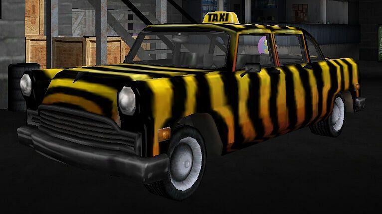 The Zebra Car (Image via GTA Wiki)