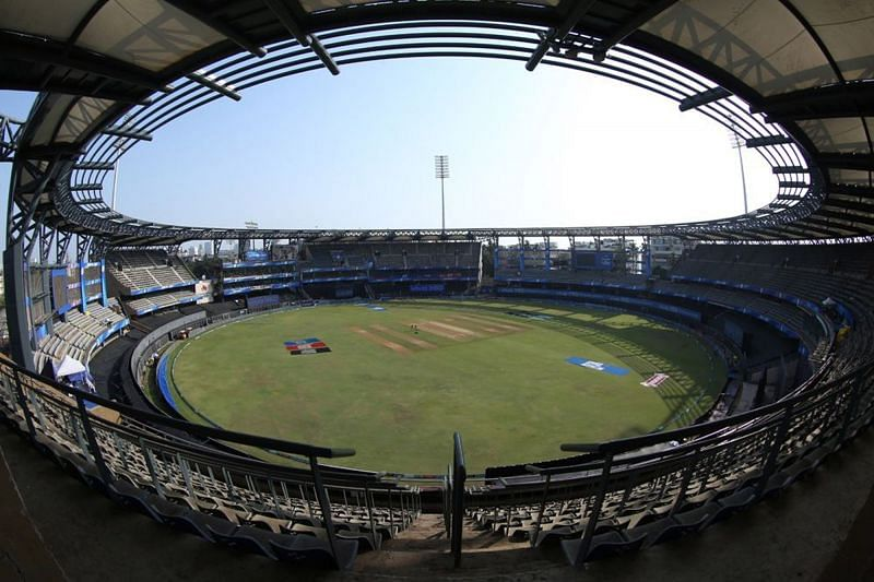 Wankhede Stadium will host the battle between the Kolkata Knight Riders and the Chennai Super Kings on Wednesday (Image courtesy: IPLT20.com)