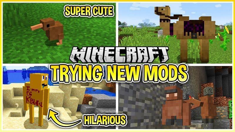 I Tried Brand New Minecraft Mods... - YouTube