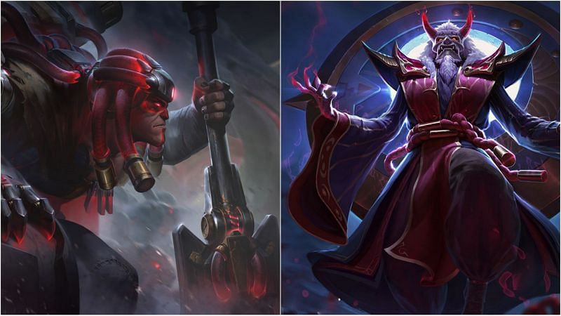 This Yorick-Zilean bot lane combination is turning out to be a game-breaker (Image via Riot Games - League of Legends)