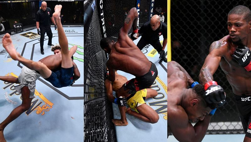 Kevin Holland and Joaquin Buckley/Jacare Souza/Charlie Ontiveros.