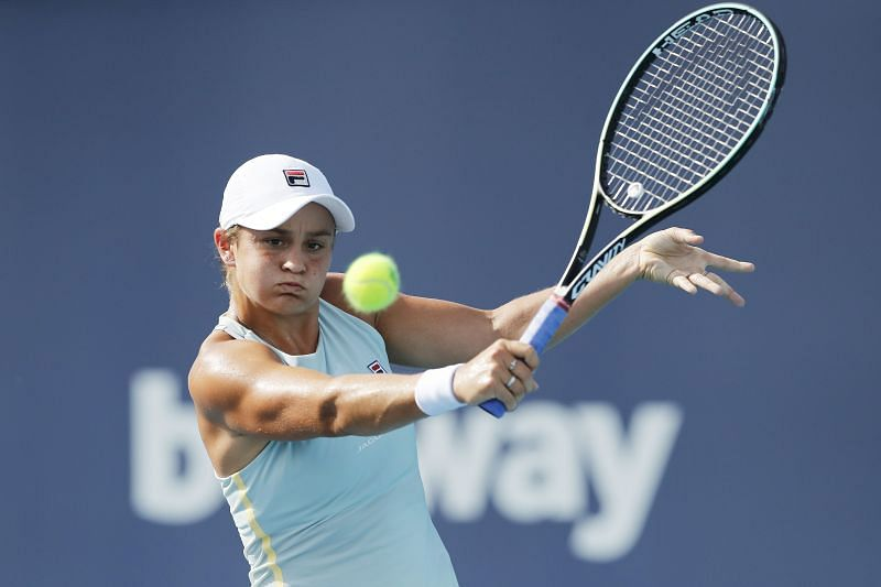 Bianca Andreescu will take on Ashleigh Barty in the 2021 Miami Open final