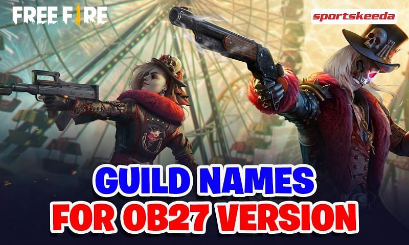 Players are required to set a name for their Free Fire guild when they first create one (Image via Sportskeeda)