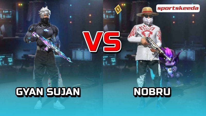 Gyan Sujan vs Nobru in Garena Free Fire