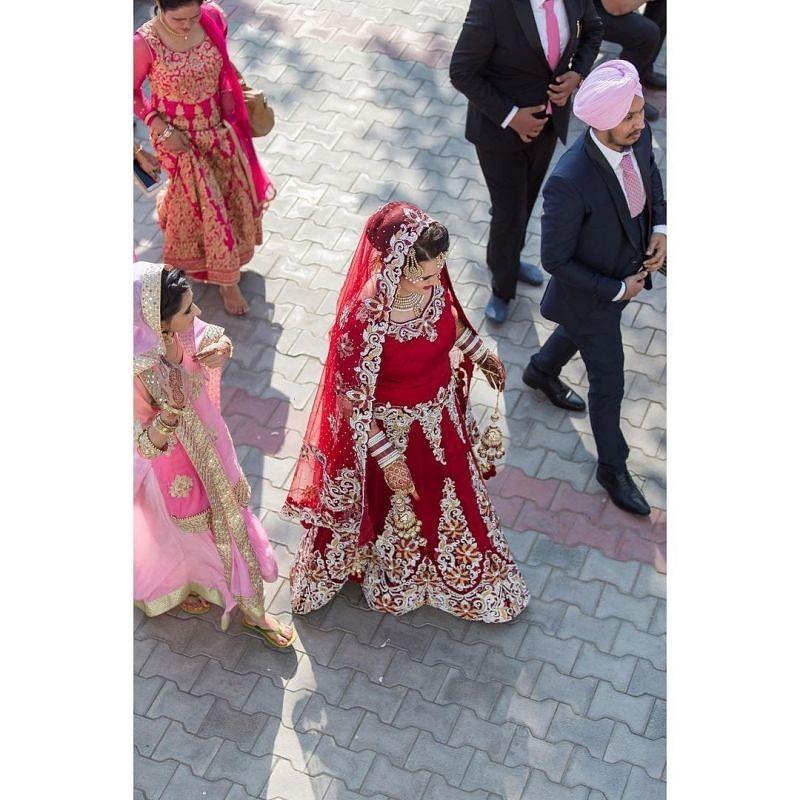 Mandeep Singh and Jagdeep Jaswal's marriage