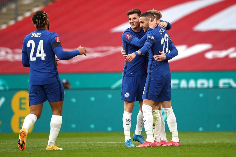 Chelsea beat Manchester City to reach the final of the FA Cup