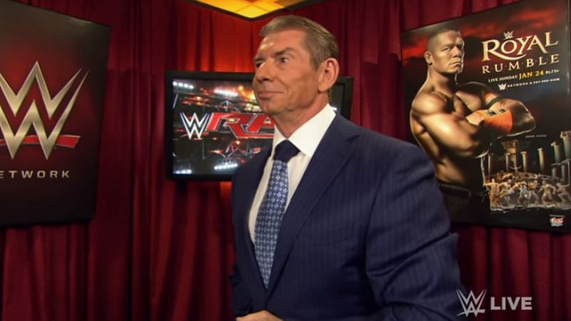 Vince McMahon is WWE