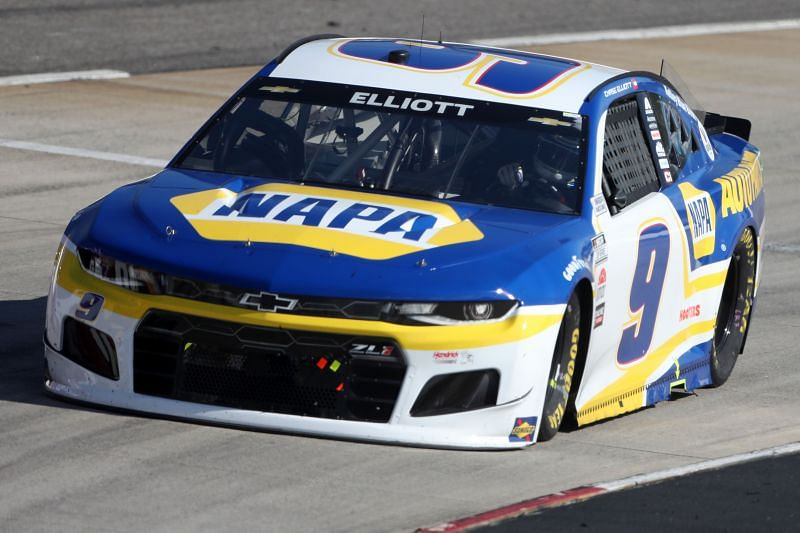Winless so far in 2021, Chase Elliott equaled his season's best finish of P2 at the Blue-Emu Maximum Pain Relief 500 last weekend. Photo by James Gilbert/Getty Images