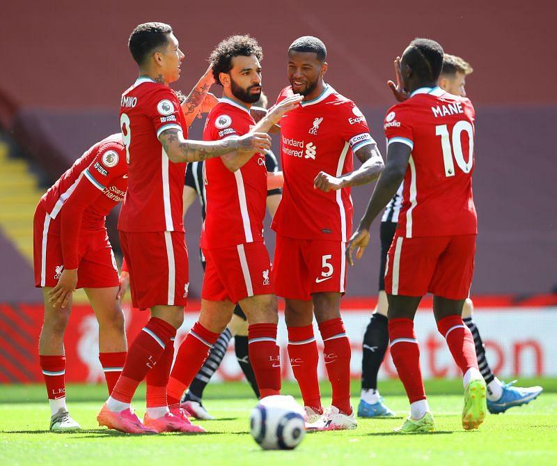 Mohamed Salah scored Liverpool
