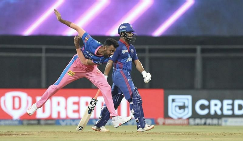 Jaydev Unadkar in action (Photo: BCCI)