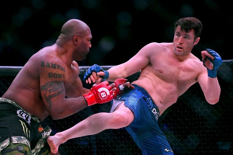 Quinton Jackson and Chael Sonnen were largely past their prime when they fought in Bellator.