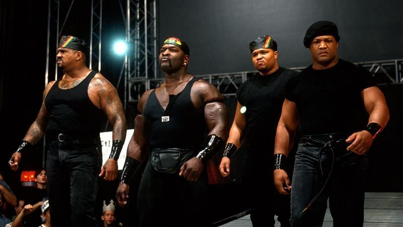 The Nation of Domination appeared in WWE from 1996 to 1998