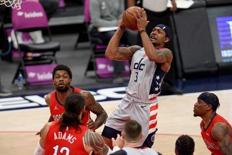 Bradley Beal had to fill in at forward for the Washington Wizards on Monday