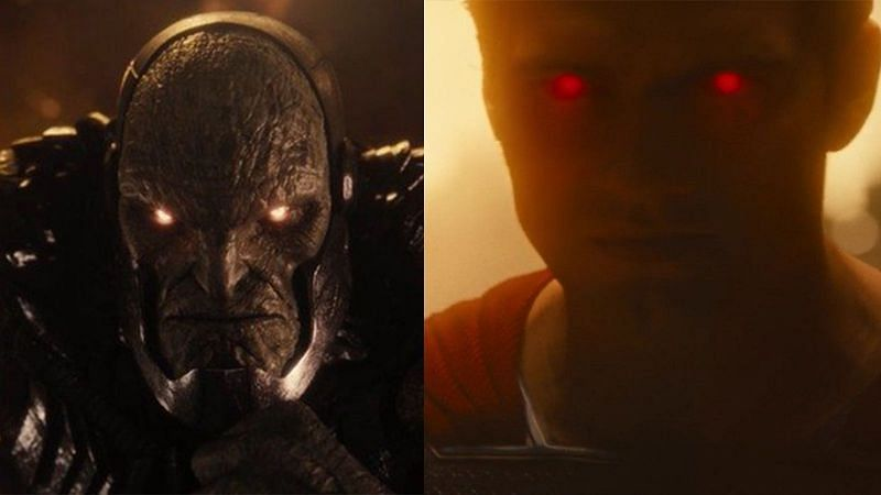 Darkseid and Superman from Zack Snyder