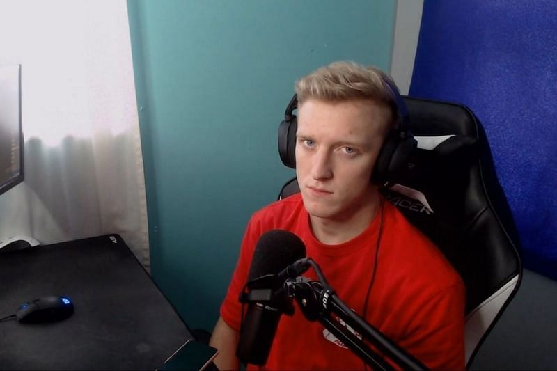Tfue not happy about losing the Twitch Rivals Minecraft tournament (Image via Tfue, Youtube)