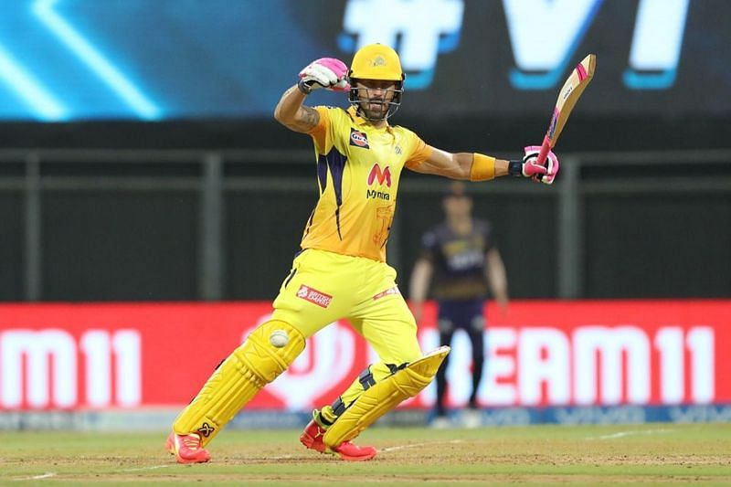 Faf du Plessis has given a solid start to the Chennai Super Kings. (Image Courtesy: IPLT20.com)