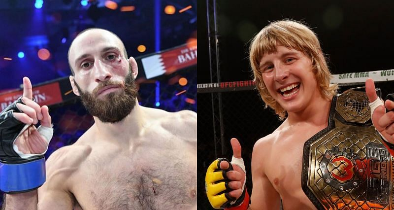 Guram Kutateladze (Left) wants to welcome Paddy Pimblett (Right) to the UFC