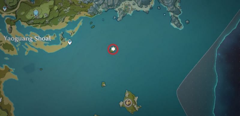 The Heart Island (Image via Mihoyo)