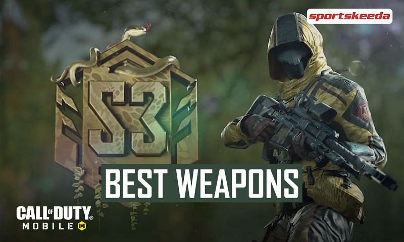 Best weapons to use in COD Mobile Season 3 Ranked MP