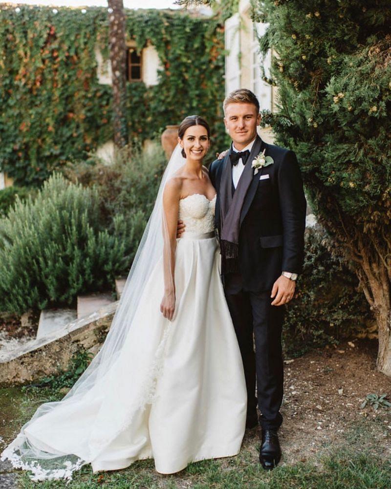Jason Roy's Pic Wedding Pic