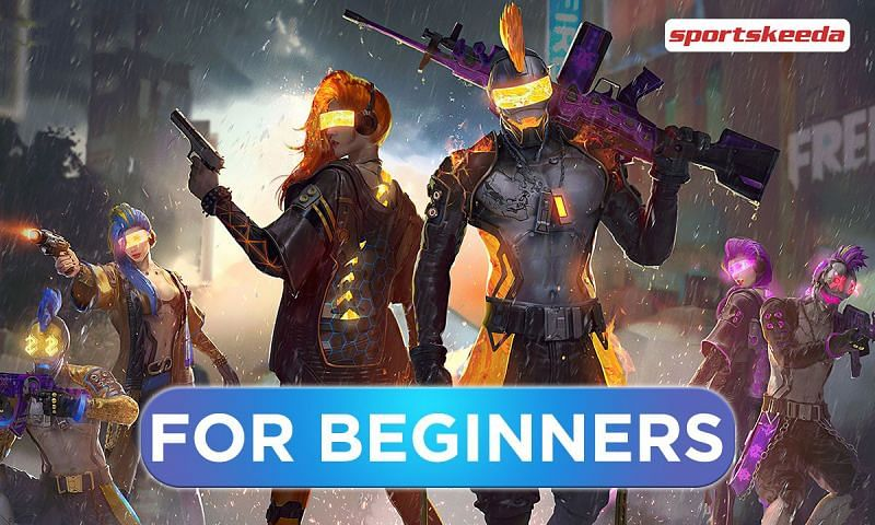 Free Fire might be a bit intimidating for beginners