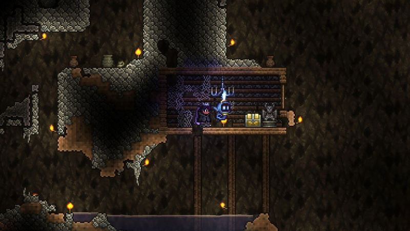 Underground Cabins are the ruins of once existing living spaces that you can find as you explore the caves of your Terraria world.