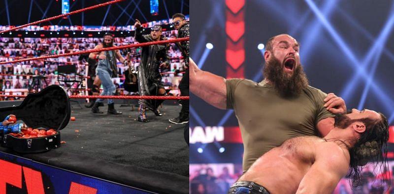 WWE Raw में बहुत कुछ देखने को मिला