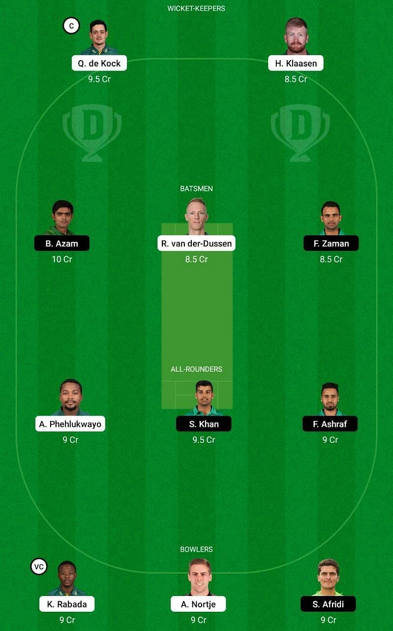 SA vs PAK 2nd ODI Dream11 Tips