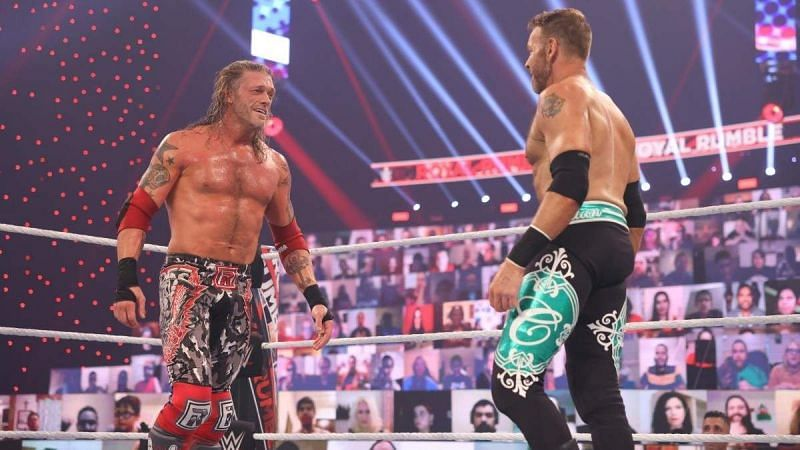 Edge shares his opinion on Christian signing with All Elite Wrestling.