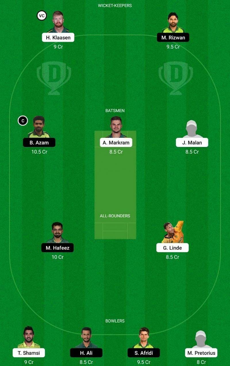 SA vs PAK 1st T20I Dream11 Tips