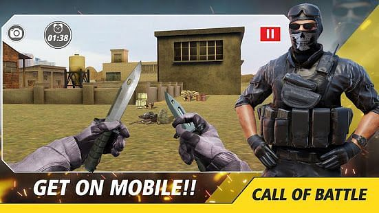 Counter Critical Strike: Army mission game offline (Image via Google Play)