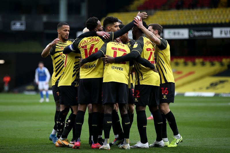 Watford face Sheffield Wednesday this Friday