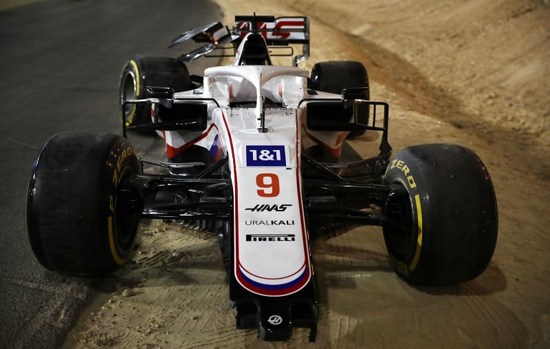 Haas had a disastrous Bahrain Grand Prix. Photo: Peter Fox/Getty Images.