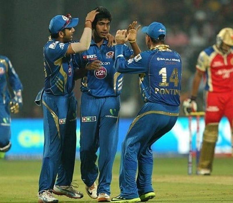 Jasprit Bumrah on his IPL debut. Pic: Jasprit Bumrah/ Twitter