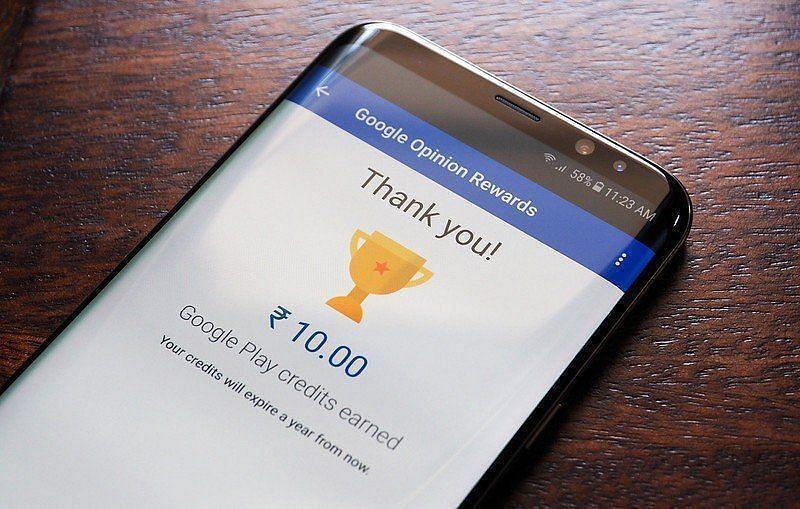 Google Opinion Rewards is a reward-based program