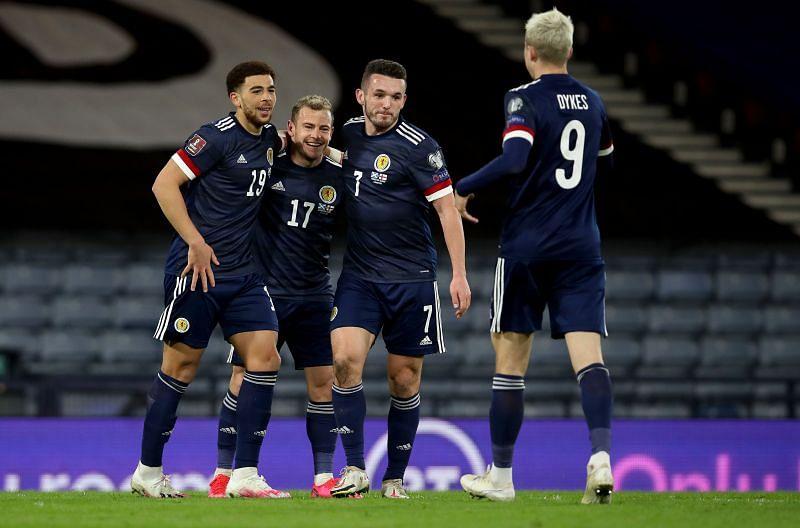 Scotland beat the Faroe Islands 4-0.