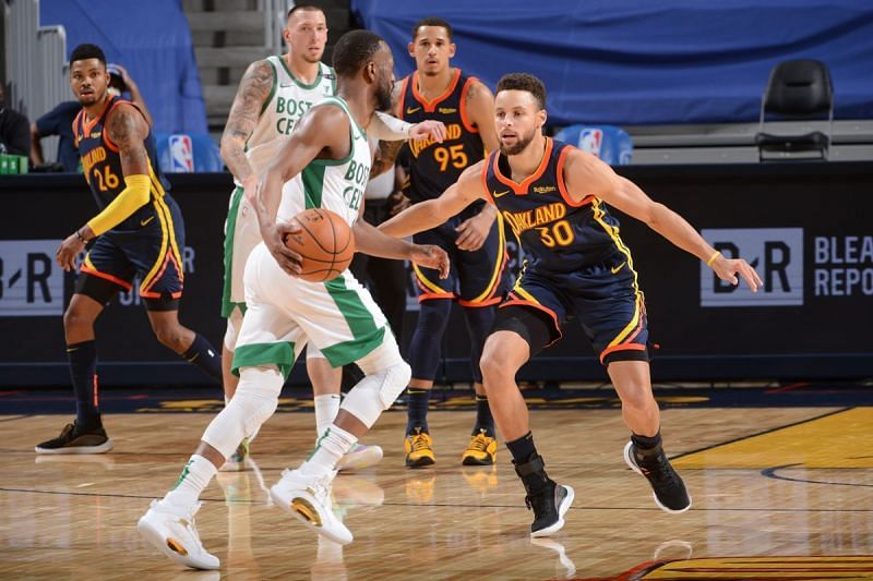 The Boston Celtics and the Golden State Warriors will face off at TD Garden on Saturday