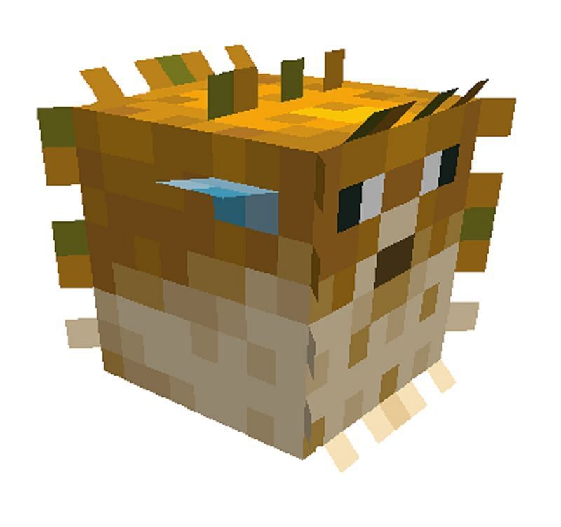 Pufferfish were introduced in Minecraft with the 1.13 update, also known as the Aquatic Update (Image via Minecraft Wikipedia)