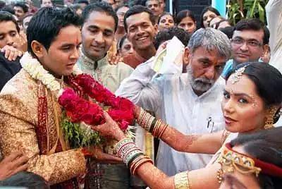 Parthiv Patel's Wedding Rituals Pics