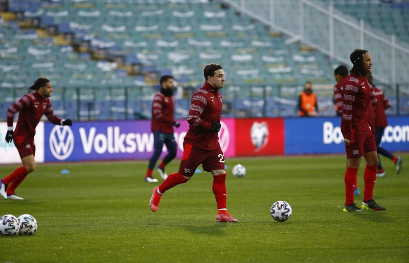 Bulgaria v Switzerland - FIFA World Cup 2022 Qatar Qualifier