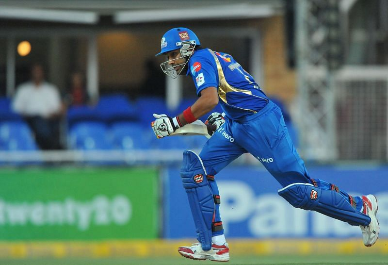 Rohit Sharma blasted a 19-ball 40 against the Royals