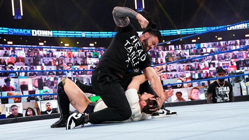 SmackDown ended in chaos last week