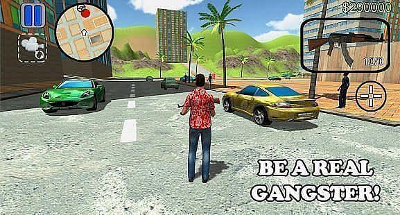 Grand Miami Crime V: Real Gangster (Image via Google Play)