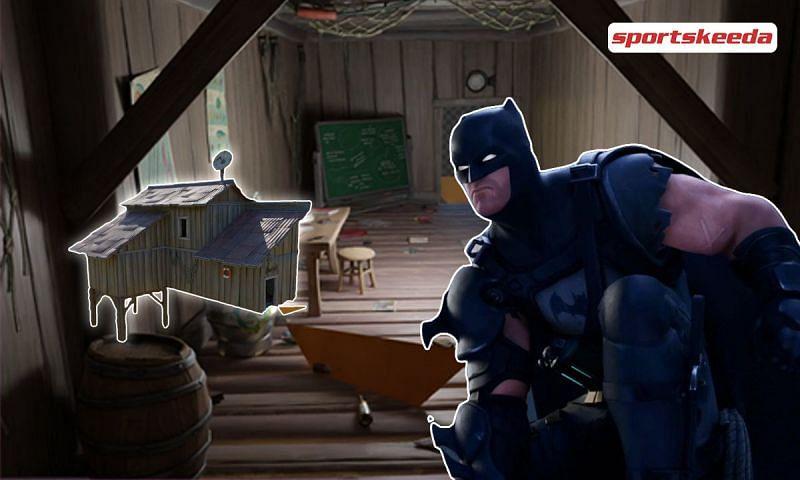 Where is the new BatShack POI located in Fortnite Season 6?