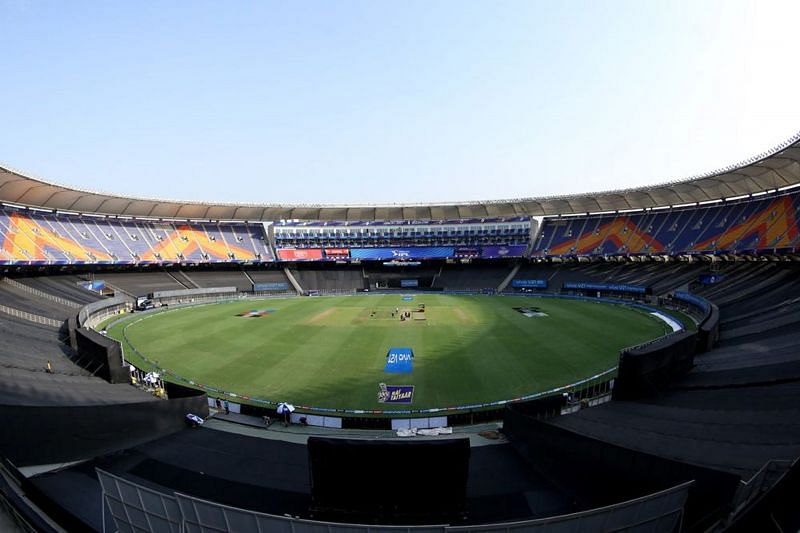 Narendra Modi Stadium will host the match between the Delhi Capitals and the Royal Challengers Bangalore on Tuesday (Image Courtesy: IPLT20.com)