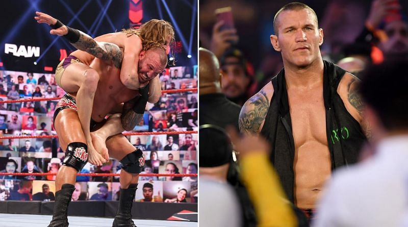 Randy Orton reacts to his big loss to Riddle