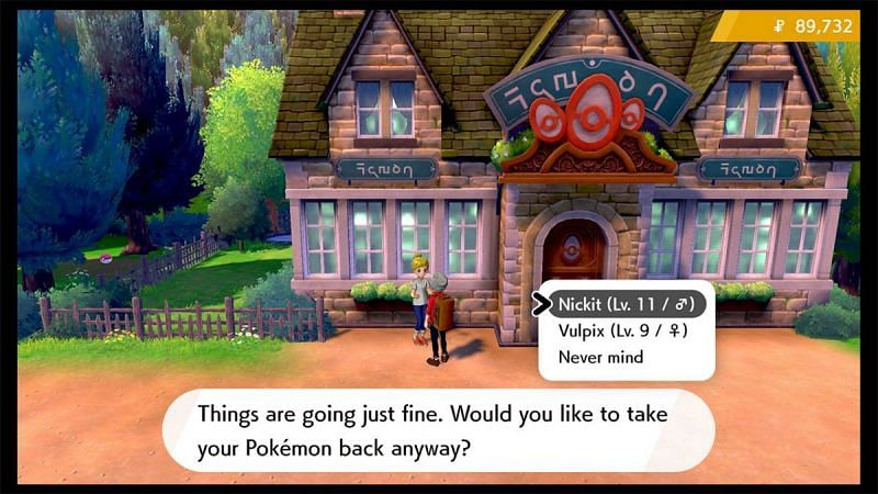 The Pokemon Nursery (Image via Game Freak)